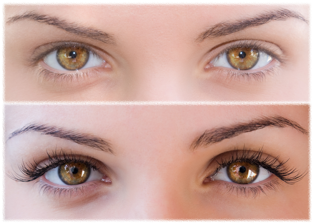 get longer, thicker eyelashes