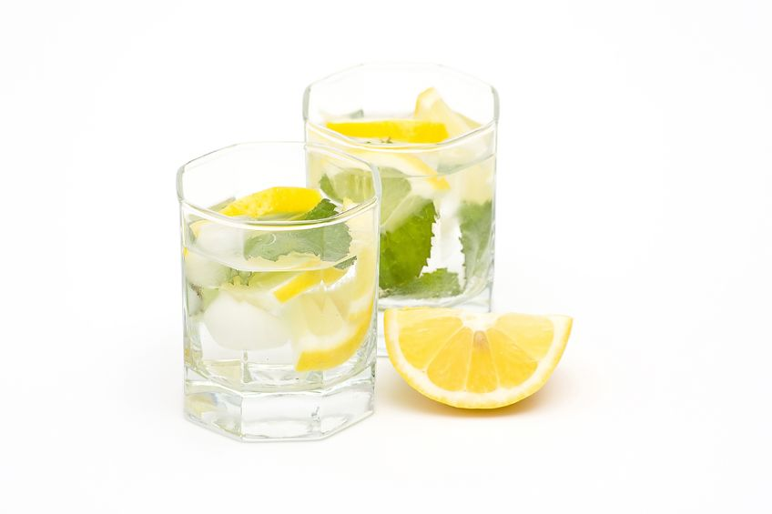 Warm water with Lime