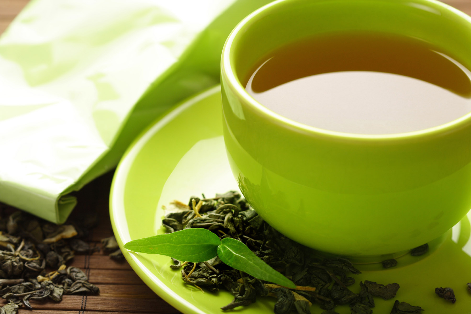 Did you Pick your Glass of Green Tea this Morning?