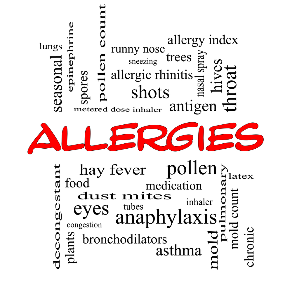 Types of allergies
