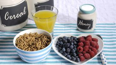 High fibre food for a healthy body