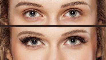 Getting longer eyelashes is not difficult