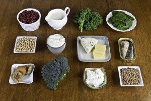 Calcium is vital for strong bones