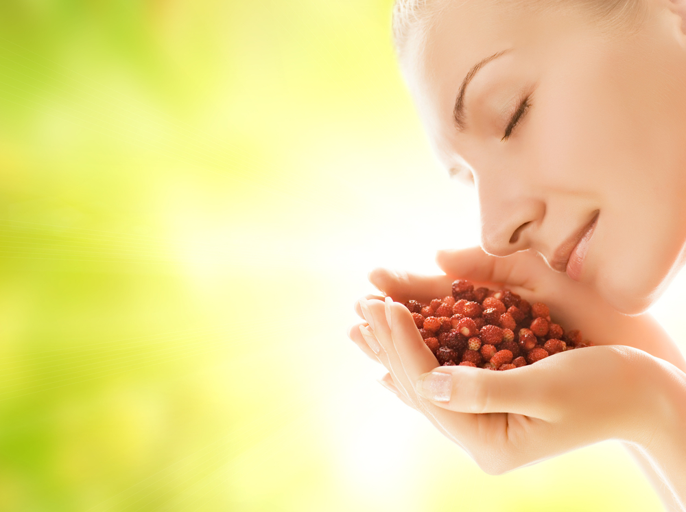 Healthy diet for glowing skin