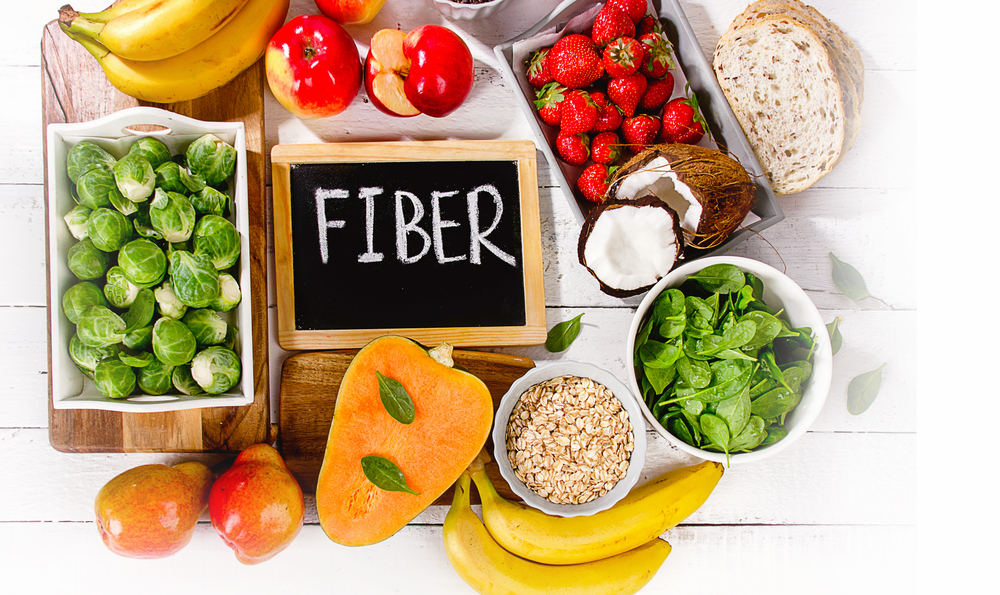 Five Fiber Rich Foods for Human Health
