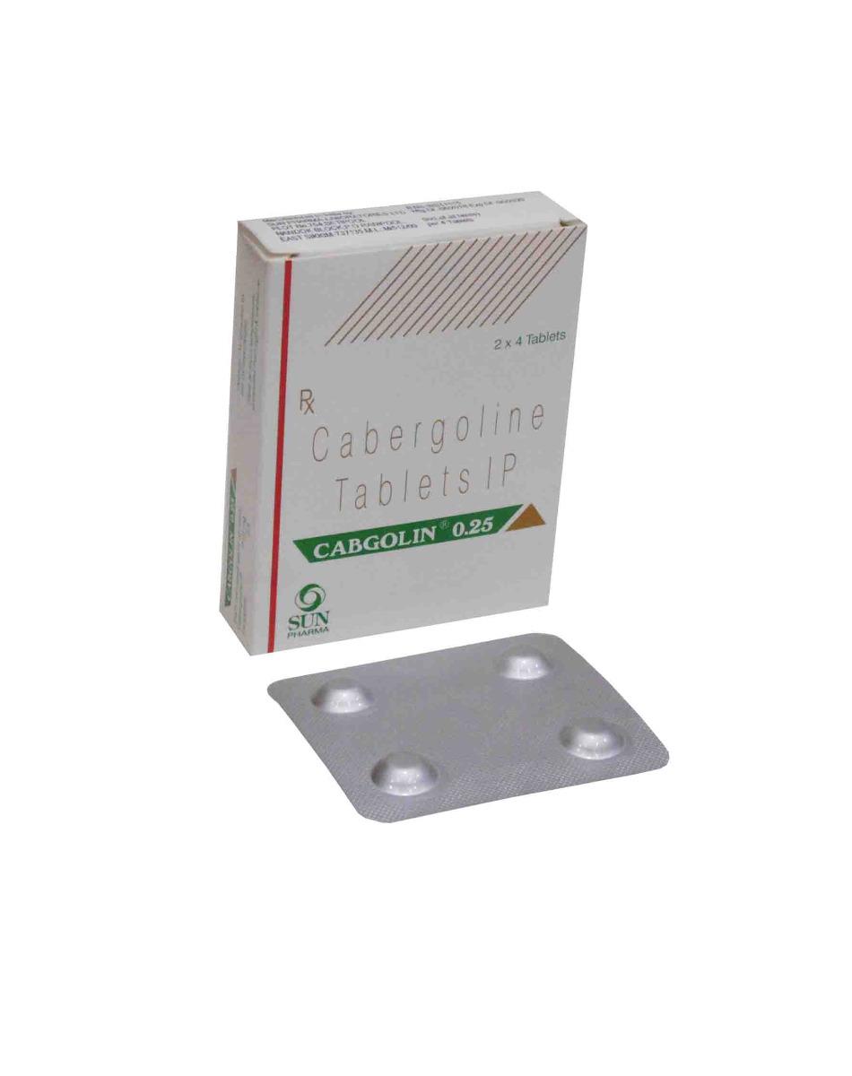 Cabgolin (On Sale) 0.25 mg