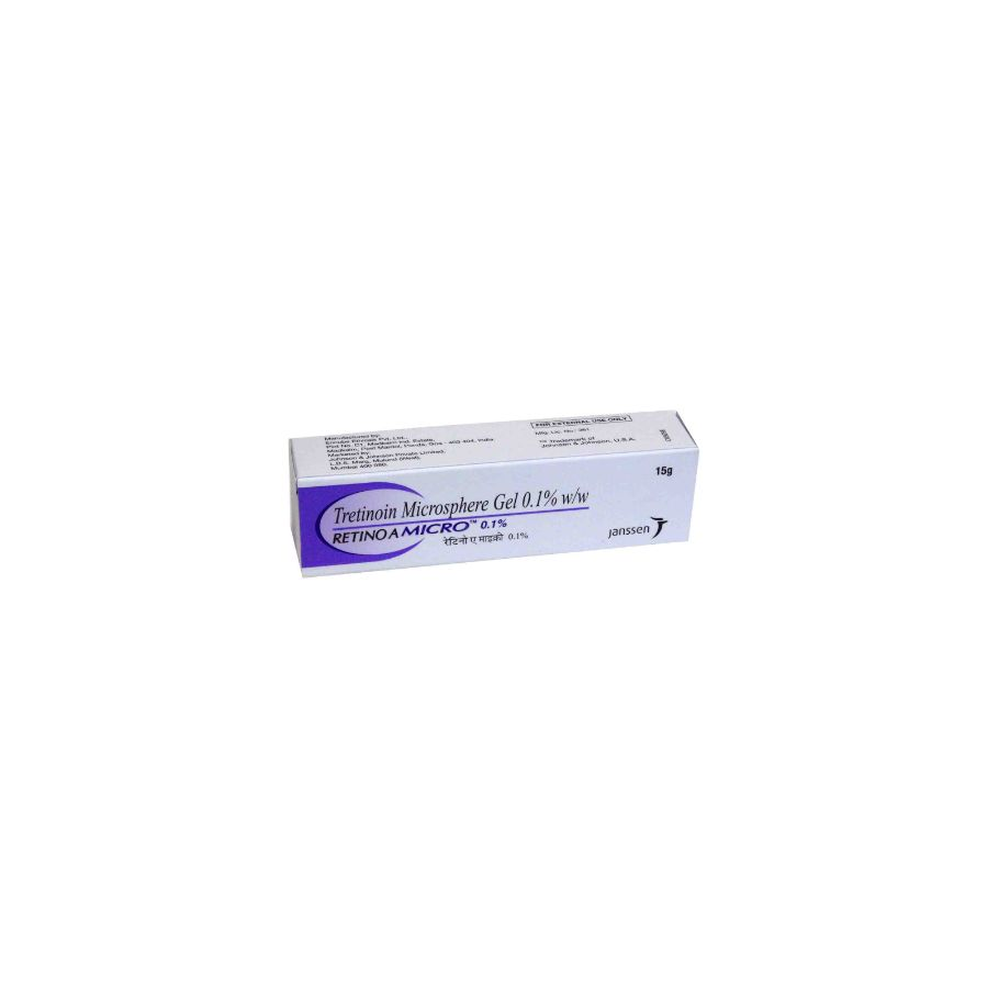 Retino A Micro Gel (On Sale) 0.1% (15 gm)