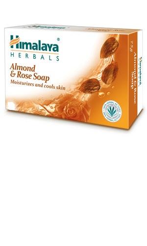 Almond & Rose Soap (Himalaya) 125gm