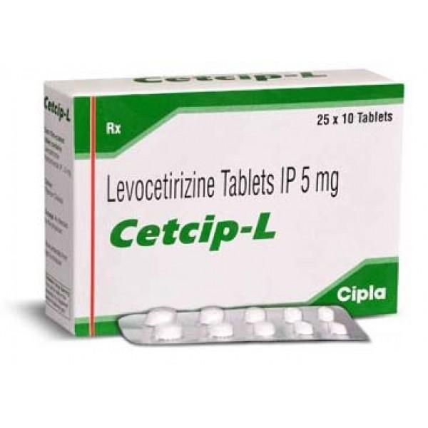 Cetcip L 5mg