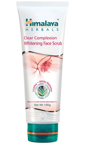 Clear Complexion Whitening Face Scrub (Himalaya) 100gm