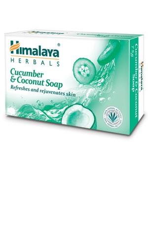 Cucumber & Coconut Soap (Himalaya) 125gm