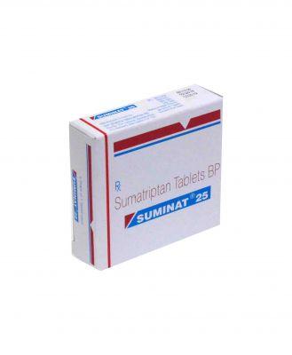 Suminat 25 mg tablet uses