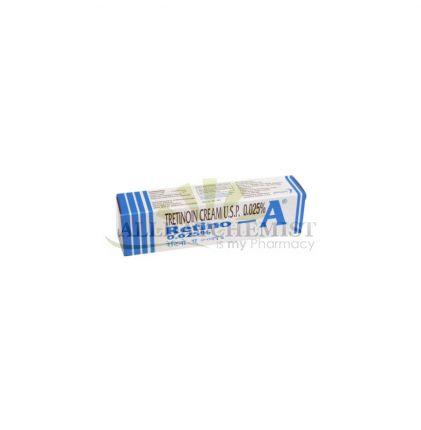 Retino A Cream (On Sale) .025% (20gm)