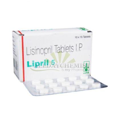 Lipril (On Sale) 5mg