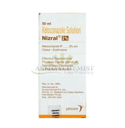 Nizral Solution (On Sale) 2% (50 ml)