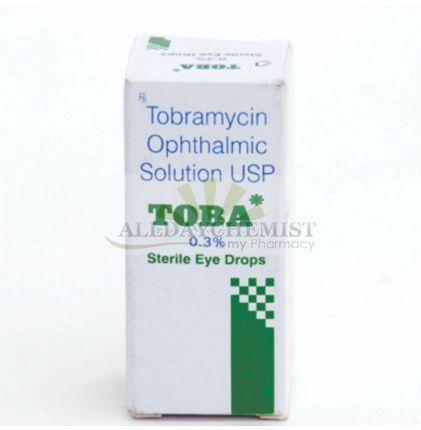 Toba Eye Drop (On Sale) 0.3% (5 ml)