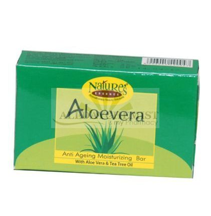 Aloevera Soap (Anti Aging Moisturizing Soap) 75 gm