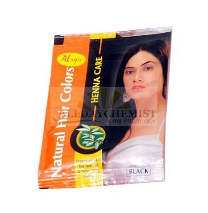 Magic Henna Care (Natural Hair Color Black) 150 gm