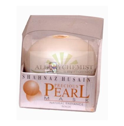 Shahnaz Husain Pearl Mask (Naturally Whitening Radiance Mask) 100gm