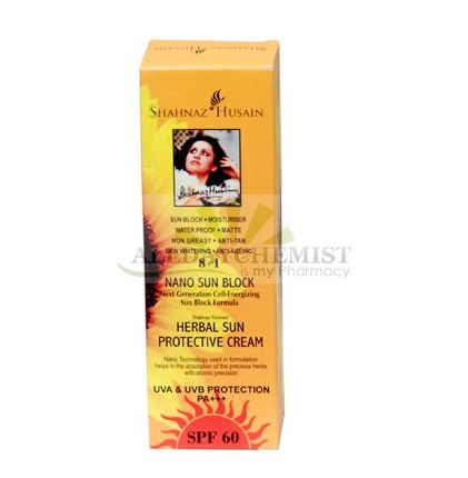 Sun Block Moisturiser Sater prrof Non Oily Antiaging Five in OneHerbal sun protective cream SPF 60 PA+++ 100 ml
