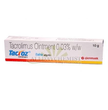 Tacroz .03% (10 gm)