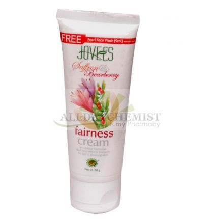 Saffron & Bearberry Fairness Cream (For all Skin Types) 60 gm