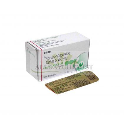 Acivir 400mg DT Tablets