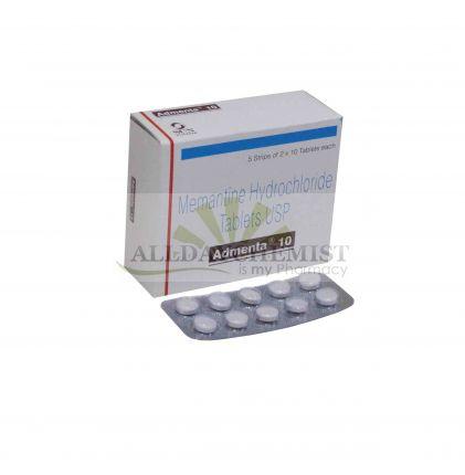 Admenta 10mg Tablets