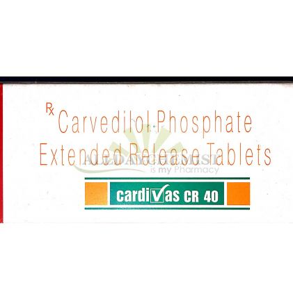 Cardivas CR 40mg