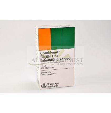 Combivent 20 mcg + 100 mcg (200 doses)