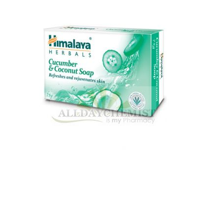 Cucumber & Coconut Soap (Himalaya) 75gm