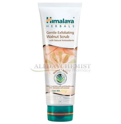 Gentle Exfoliating Walnut Scrub (Himalaya) 50gm