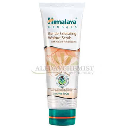 Gentle Exfoliating Walnut Scrub (Himalaya) 100gm