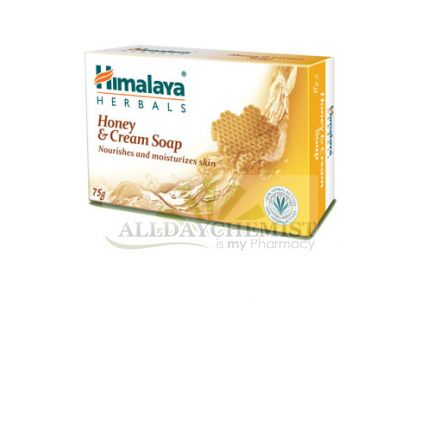 Honey & Cream Soap (Himalaya) 75gm