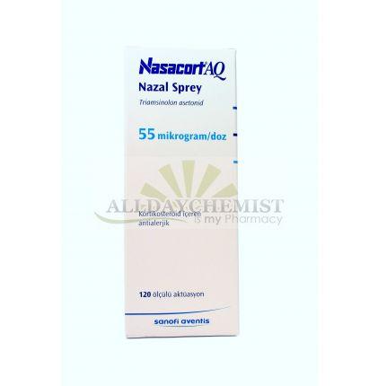 Nasacort Aqua Nasal Spray 55 mcg (120 Doses)