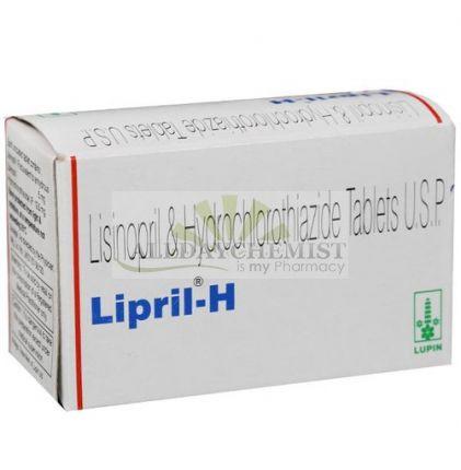 Lipril H 5 + 12.5 mg