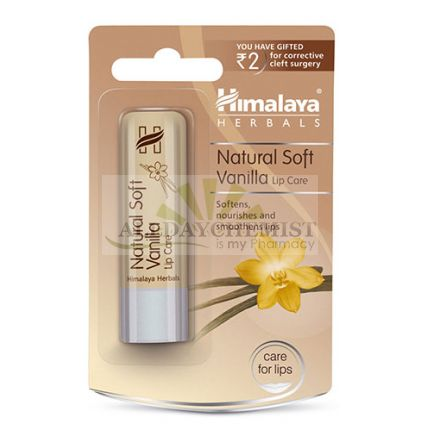 Natural Soft Vanilla Lip care (Himalaya) 4.5gm
