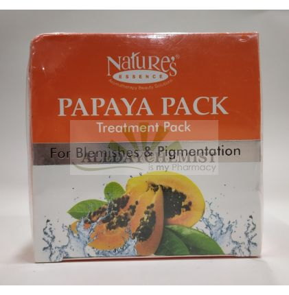 Nature's Papaya Pack Treatment Pack For Blemishes & Pigmentation