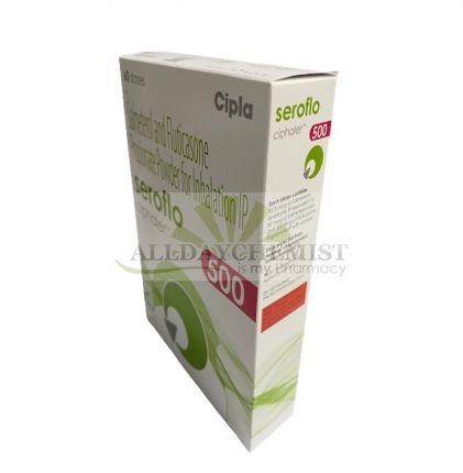 Seroflo Ciphaler 50/500 mcg