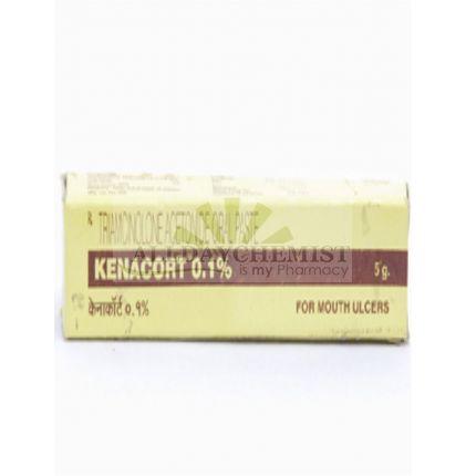 Kenacort Paste 0.1% (5 gm) tube