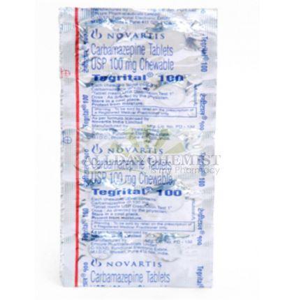 Tegrital (Chewable tabs.) 100 mg