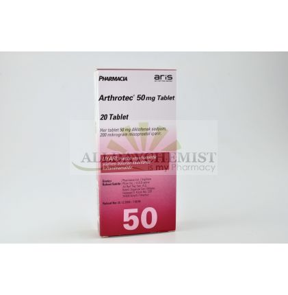 Arthrotec 50mg/200mcg