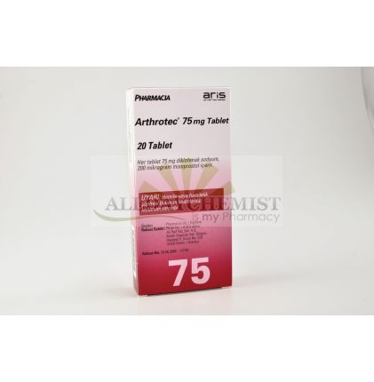 Arthrotec 75mg/200mcg