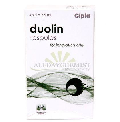 Duolin Respules 1.25 mg + 500 mcg