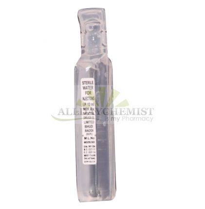 Sterile Water for Injection 5 ml
