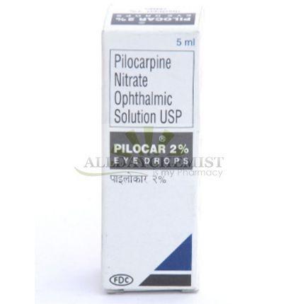 Pilocar Eye drop of 5 ml