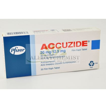 Accuzide Forte 20/12.5 mg