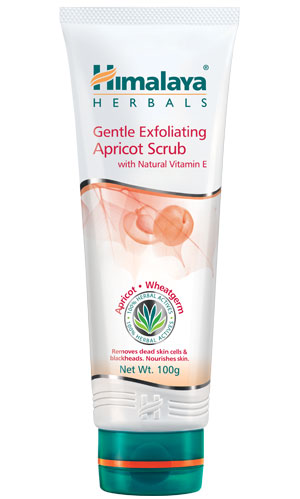 Gentle Exfolicating Apricot Scrub (Himalaya) 100gm