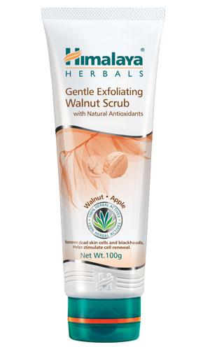 Gentle Exfoliating Walnut Scrub (Himalaya) 100gm
