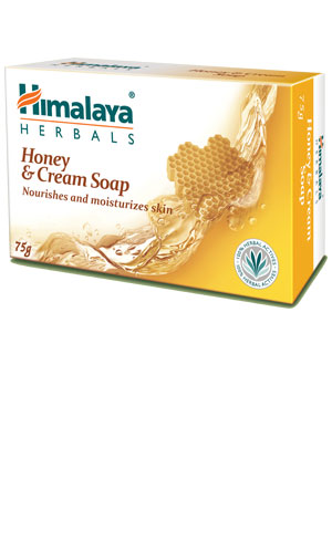 Honey & Cream Soap (Himalaya) 75gm